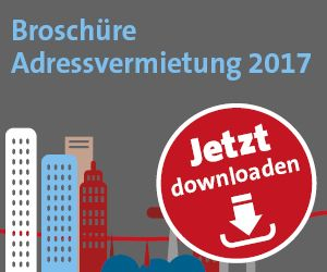 Download Broschuere Adressvermietung 2017