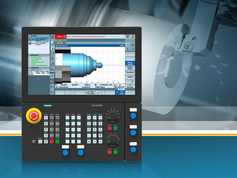 Siemens: Neue Hard- und Software für das Sinumerik-Portfolio
