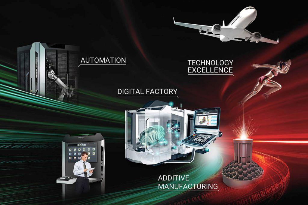 DMG Mori: Maschinen und Lösungen für die digitale Fabrik