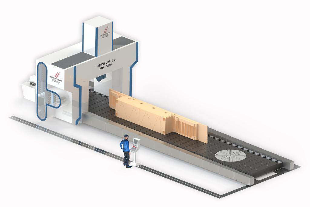 Heyligenstaedt: Die neue Maschinenmodellreihe Heynumill–GS