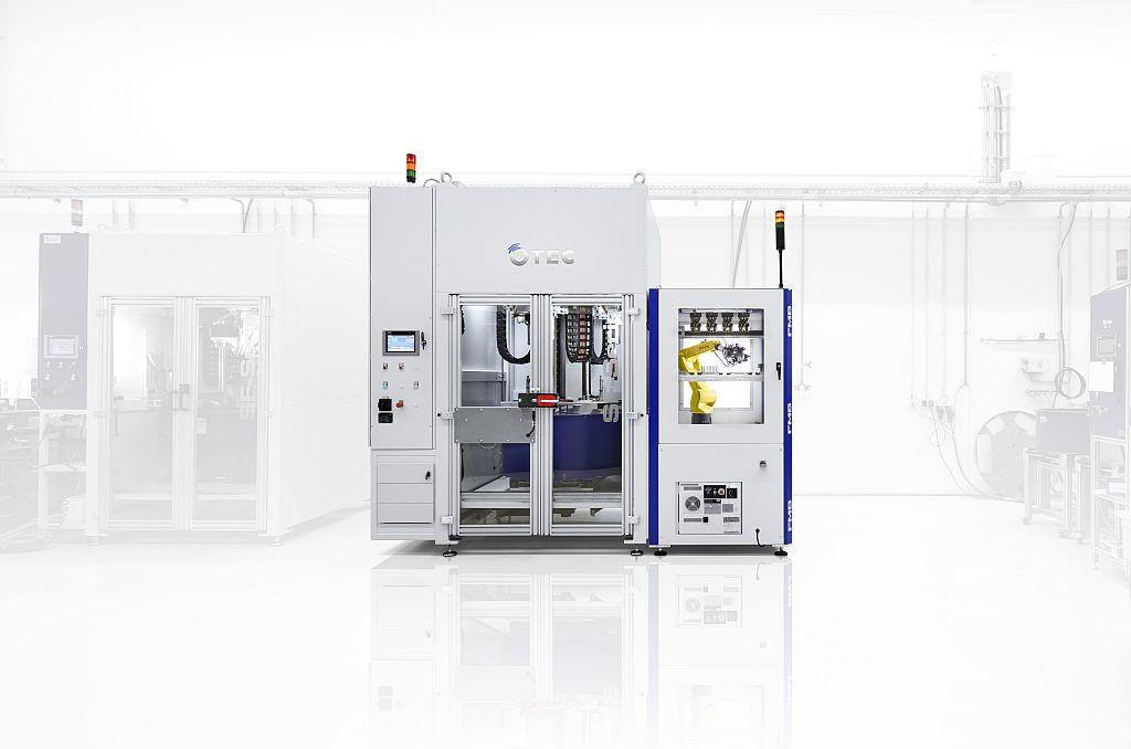 Otec: Maschinen für das Schlepp- und Streamfinishverfahren