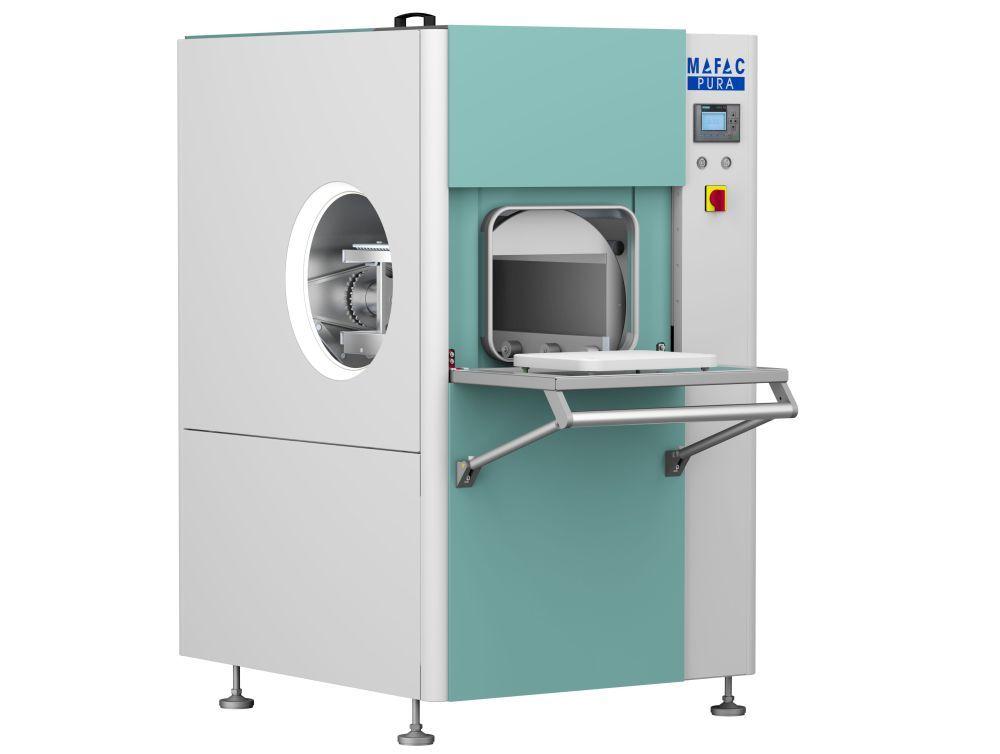 Mafac: Allround-Reinigungsmaschine für dezentralen Einsatz