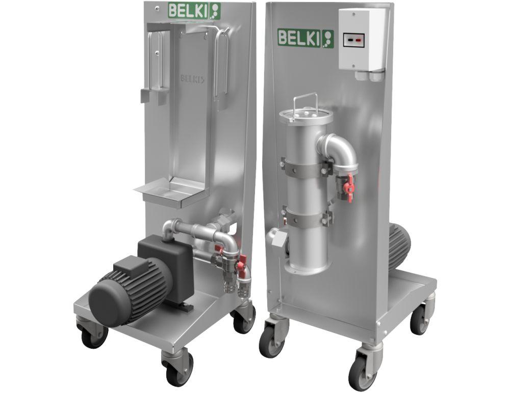 Belki: Innovative Lösungen in der Behandlung von Prozessflüssigkeiten